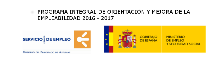 PROGRAMA  INTEGRAL DE ORIENTACIÓN Y MEJORA DE LA EMPLEABILIDAD 2016/2017